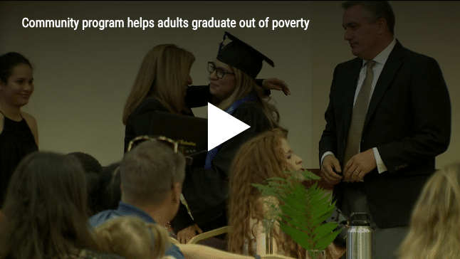 Community program helps adults graduate out of poverty